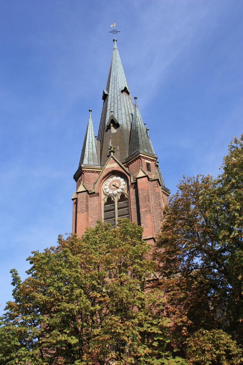 Turm der Kreuzkirche Herne